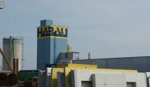 Fassadenbeschriftung Habau-Turm