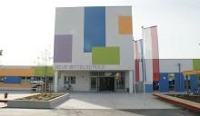 Fassadenbeschriftung Schule-Alkoven